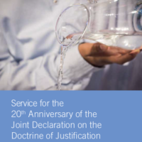 20th Anniversary of Joint Declaration on the Doctrine of Justification