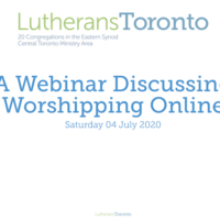 'Worshipping Online' Webinar Download